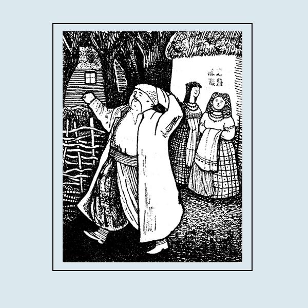 """Иллюстрация к произведению Н.В.Гоголя """"Майская ночь, или утопленница""""  Издательcтво """"Янико"""""""